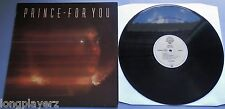 Prince - For You 1988 Warner Bros LP with Inner Sleeve & Insert