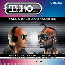CD Techno Club Vol.56 by Talla 2XLS & DJ Taucher 2CDs
