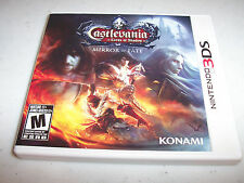 Castlevania Lords of Shadow Mirror of Fate Nintendo 3DS XL 2DS Game w/Case