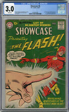 1957 Showcase 8 CGC 3.0 1st Captain Cold, 2nd Silver Age Flash