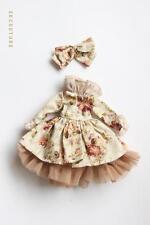 SKBD005 Beige Flower Skirt Set for Blythe Pullip Dal Azone Licca