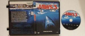 WideScreen DVD JAWS 3 3D different cover 2003 Alves Quaid Universal Shark 3-D