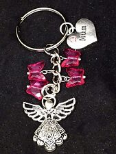 Guardian Angel Keyring mum good luck lucky charm keepsake gift safety