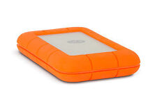 LaCie Rugged USB-C 1TB 5400RPM Silver