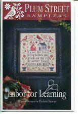Plum Street Sampler: Labor For Learning Chart