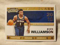 2019-20 Panini Contenders #1 Zion Williamson Draft Class Rookie SP MINT Pelicans