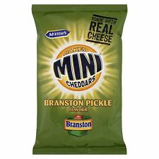 Mcvities Branston Pickle Mini Cheddars 50g | FULL CASE 30 PACKETS | CHEAPEST
