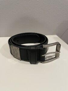 Levis Denizen Synthetic Leather Black Men's Belt Size Small, S 30-32