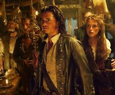 Pirates Of The Caribbean UNSIGNED photo - F242 - Orlando Bloom & Keira Knightley