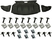 BMW 5 Series E60 E61 2003-2010 Under Engine Cover + CLIPS + left , right cover