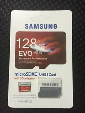 SAMSUNG EVO Plus 128GB MicroSD Micro SDHC C10 Flash Memory Card with Adapter