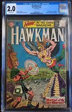Hawkman #1 1st Appearance of Hawkman 1964 CGC 2.0 Origin & 1st App Chac