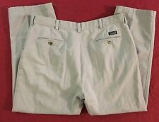 Alexander Julian Colours Flat Front Khaki Chino Pants Men's 38x30