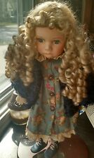 "Duck House Heirloom Porcelain Doll 18"" ""Candice"""