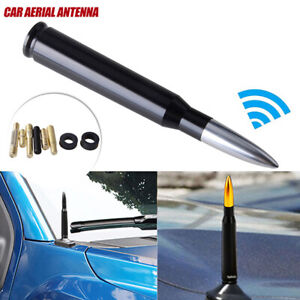 CNC Bullet AM/FM Antenna Mast Silver for Dodge RAM 1500 2500 3500 2010-2019
