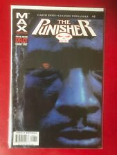 The Punisher # 8. Garth Ennis. VF condition. Bagged & Boarded. Max series