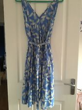 And Other Stories Blue Pineapple Dress Size 38 12 14