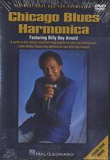 Chicago Blues Harmonica Billy Boy Arnold matriculación aprender a jugar Dvd