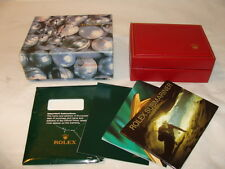 Rolex Watch Box with Booklets and Link No Watch