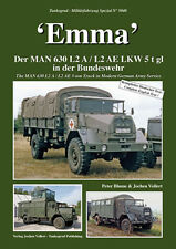 Tankograd 5040 'Emma' The MAN 630 L2 A / L2AE 5-ton Truck in Modern German Army