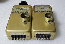 Pair of RCA MI-12173-A SK-1A 12AU7 Rainbow Line Mixer Preamplifier Preamp Module