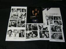 Original PERIODICAL STYLE 1995 CASINO 9 Photo Press Kit DE NIRO Stone PESCI