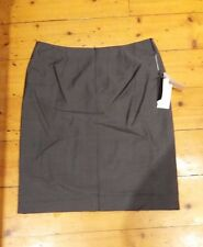 Rhodes and Beckett Skirt Grey Wool Suit Business Career Size 12 NWT