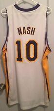 Steve Nash Los Angeles Lakers NBA Jersey Adidas Nwt New Men L Sewn Hwc Suns