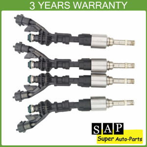 4X Fuel Injector 0261500298 For Jaguar F-TYPE XF XK Land Rover Discovery 5.0L