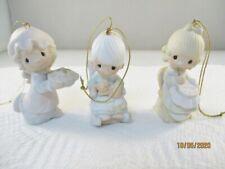 Precious Moments Ornaments - E0514, E0516, E2376