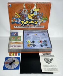 Pokemon Master Trainer Board Game 100% Complete 2005 Hasbro