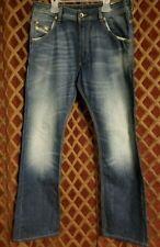 DIESEL Krooley 0880E DNA Regular Slim Carrot Blue Denim Jeans 29X32 Light wash