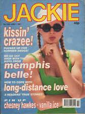 Jackie Magazine 1 June 1991 No. 1430  Chesney Hawkes  Dina Carroll Julia Sawahla