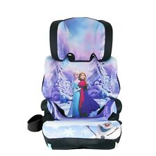 Kids Frozen Booster Car Seat 2 In 1 Convertible Elsa Anna Cup Holder Safety Baby