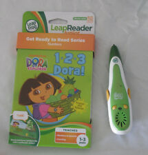 Leap Frog Tag Pen Plus Reader Dora 1.2.3. Book