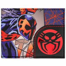 NEW OFFICIAL SPIDER-MAN 2099 CHARACTER & LOGO ID & CARD BI-FOLD WALLET
