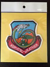 JASDF JAPAN AIR SELF DEFENSE FORCE KOMATSU WEATHER PATCH