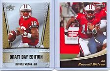 "(2) RUSSELL WILSON 2012 LEAF LIMITED GOLD EDITION"" ROOKIE CARD LOT! SEAHAWKS"