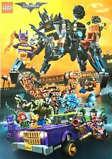 RARE Target PROMO 2017 LEGO Batman Movie Exclusive 27x19 DS Poster / Checklist