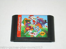 Fun 'N' Games (Sega Genesis, 1993) Game Only--Tested (NTSC/US/CA)