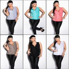 Lockre Sitzende Hüftlang Damenblusen,-Tops & -Shirts mit V-Ausschnitt und Viskose
