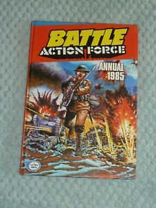 Battle Action Force Annual 1985 inc Charley's War and Johnny Red