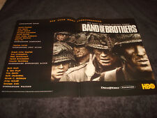 BAND OF BROTHERS Emmy ad Damien Lewis, Ron Livingston & LAST CALL Neve Campbell