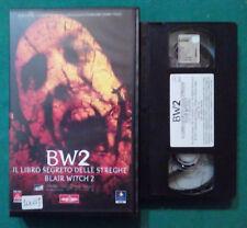 VHS FILM Ita Horror IL LIBRO SEGRETO DELLE STREGHE BLAIR WITCH 2 BW2 no dvd(VH79