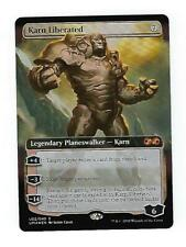 KARN LIBERATED Ultimate Masters Box Topper MTG Magic the Gathering Foil Card