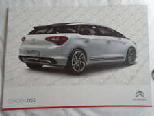 Citroen DS5 range brochure Jul 2012