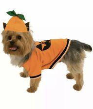 Pumpkin Dog Pet Costumes   Size M Medium