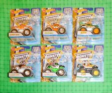 2016 Hot Wheels Monster Jam - Special Holiday Edition - Christmas -  Set of 6