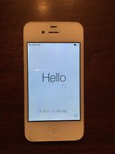 FACTORY RESETTED Apple iPhone 4 - 16GB - White (Verizon) A1349 (CDMA) bundleitem