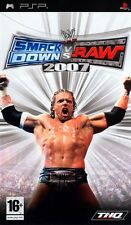 wrestling  SONY PSP - Wwe Smackdown Vs Raw 2007  playstation portatile